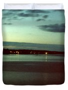 Cape Ann Sunset Duvet Cover