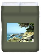 Cape Arago, Or. Duvet Cover