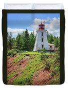 Cape Bear Lighthouse - 2 Duvet Cover