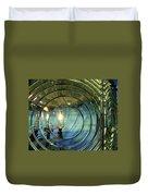 Cape Blanco Lighthouse Lens Duvet Cover