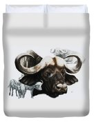 Cape Buffalo Duvet Cover