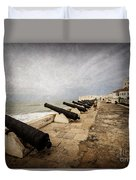 Cape Coast Castle Duvet Cover