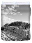 Cape Cod Beach Entry Duvet Cover