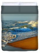 Cape Cod By The Sea Duvet Cover