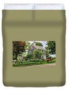 Cape Cod Floral Duvet Cover