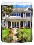 Cape Cod Home Duvet Cover