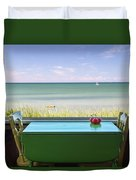 Cape Cod Paradise Duvet Cover