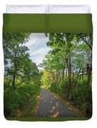 Cape Cod Rail Trail Trees Eastham Ma 2 Duvet Cover