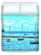 Cape Cod - Sailing Mecca Duvet Cover