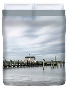 Cape Cod Winter Duvet Cover