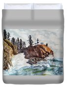 Cape Disappointment Duvet Cover