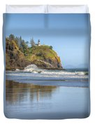 Cape Disappointment - Vertical Duvet Cover
