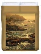 Cape Flattery Misty Morning - Washington Duvet Cover