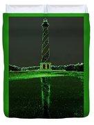 Cape Hatteras Lighthouse Green 6 21216 Duvet Cover