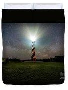 Cape Hatters Light House Stars Duvet Cover