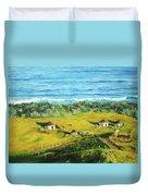 Cape Huts Duvet Cover