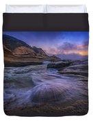 Cape Kiwanda Twilight Duvet Cover