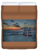 Cape May At Sunrise - Cape May New Jersey Duvet Cover