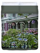 Cape May House And Garden. Duvet Cover
