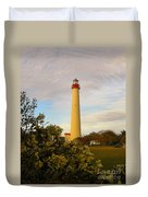 Cape May Lighthouse In Spring Duvet Cover