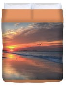 Cape May Nj Morning After The Storm Duvet Cover