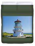 Cape Mendocino Lighthouse Duvet Cover