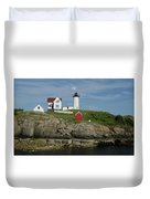 Cape Neddick Light Duvet Cover