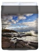 Cape Neddick Maine Duvet Cover
