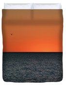 Cape San Blas Sunset Duvet Cover