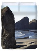 Cape Sebastian - Hunters Cove Area- Oregon Coast Duvet Cover