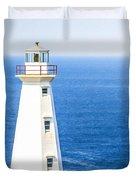 Cape Spear Lighthouse Duvet Cover