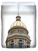Capital Building Dome Cheyenne Wyoming Vertical 01 Duvet Cover