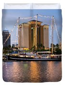 Capitan Miranda In Tampa Duvet Cover