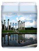Capitol Columns, National Arboretum Duvet Cover