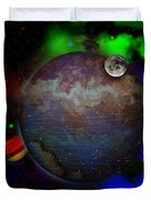 Caprica Over The Waters Duvet Cover