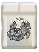 Capricorn Duvet Cover