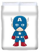 Captain America Duvet Cover