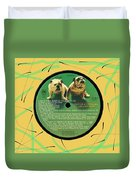 Captain And Tennille Greatest Hits Lp Label Duvet Cover