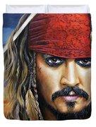 Captain Jack Duvet Cover