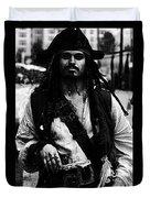 Captain Jack Duvet Cover
