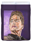 Captain Jack Harkness Duvet Cover
