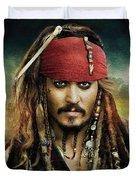 Captain Jack Sparrow Duvet Cover