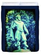 Captain John Smith - Jamestown Virginia Duvet Cover