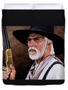 Captain Woodrow F Call Duvet Cover