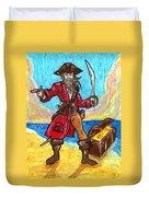Captain's Treasure Duvet Cover
