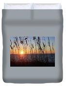 Captiva Sunset Duvet Cover