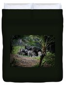 Captivity Is Heartbreaking Duvet Cover
