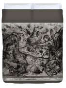 Captured Chariot Duvet Cover