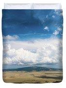 Capulin Volcano View New Mexico Duvet Cover
