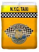 Car - City - Nyc Taxi Duvet Cover